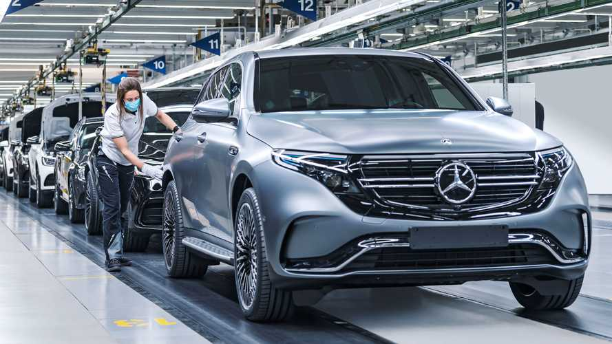 Mercedes-Benz Upgrades EQC On-Board Charger To 11 kW