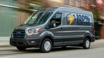ford e transit electric van
