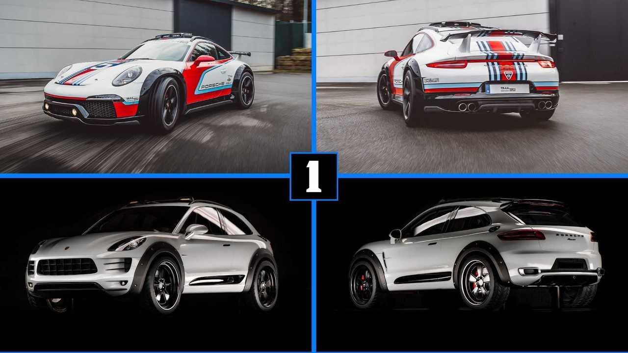 Porsche 911 Safari and Macan Safari