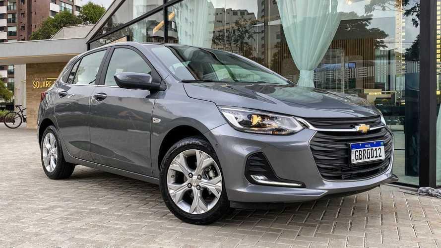 Chevrolet oferta Onix, Onix Plus e Tracker com parcelas a partir de R$ 799
