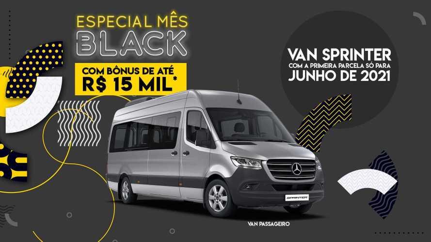Black Friday: Mercedes-Benz oferece bônus de R$ 15 mil na Sprinter