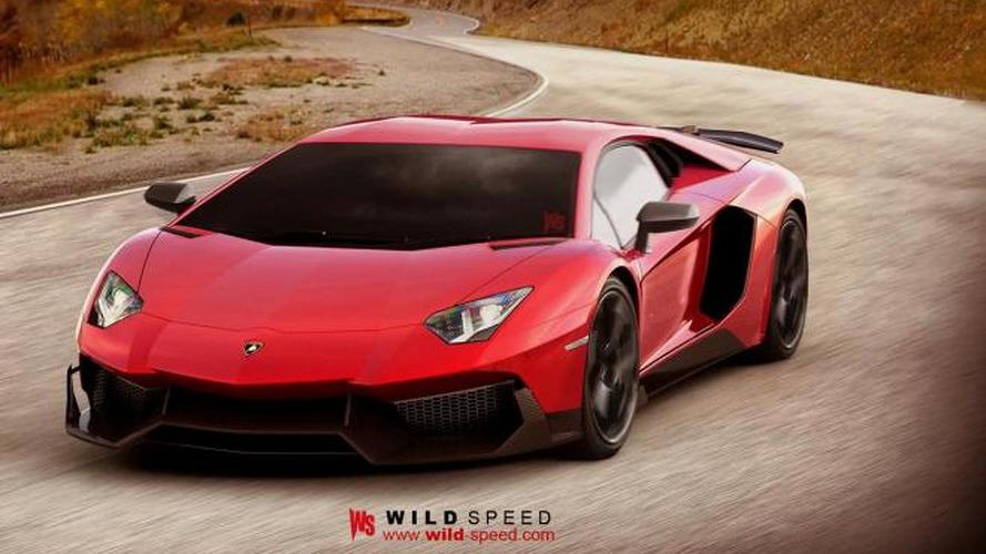 Lamborghini Aventador SV rendered based on J speedster concept