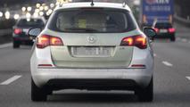 2013 Opel Astra facelift prototype