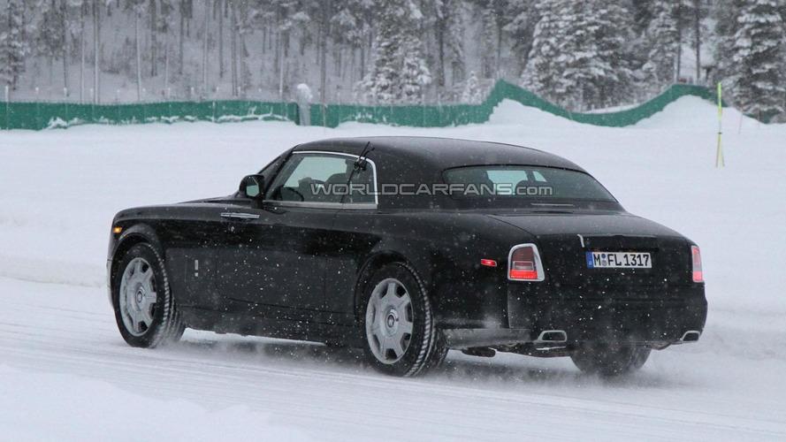 2013 Rolls Royce Phantom Coupe facelift spied