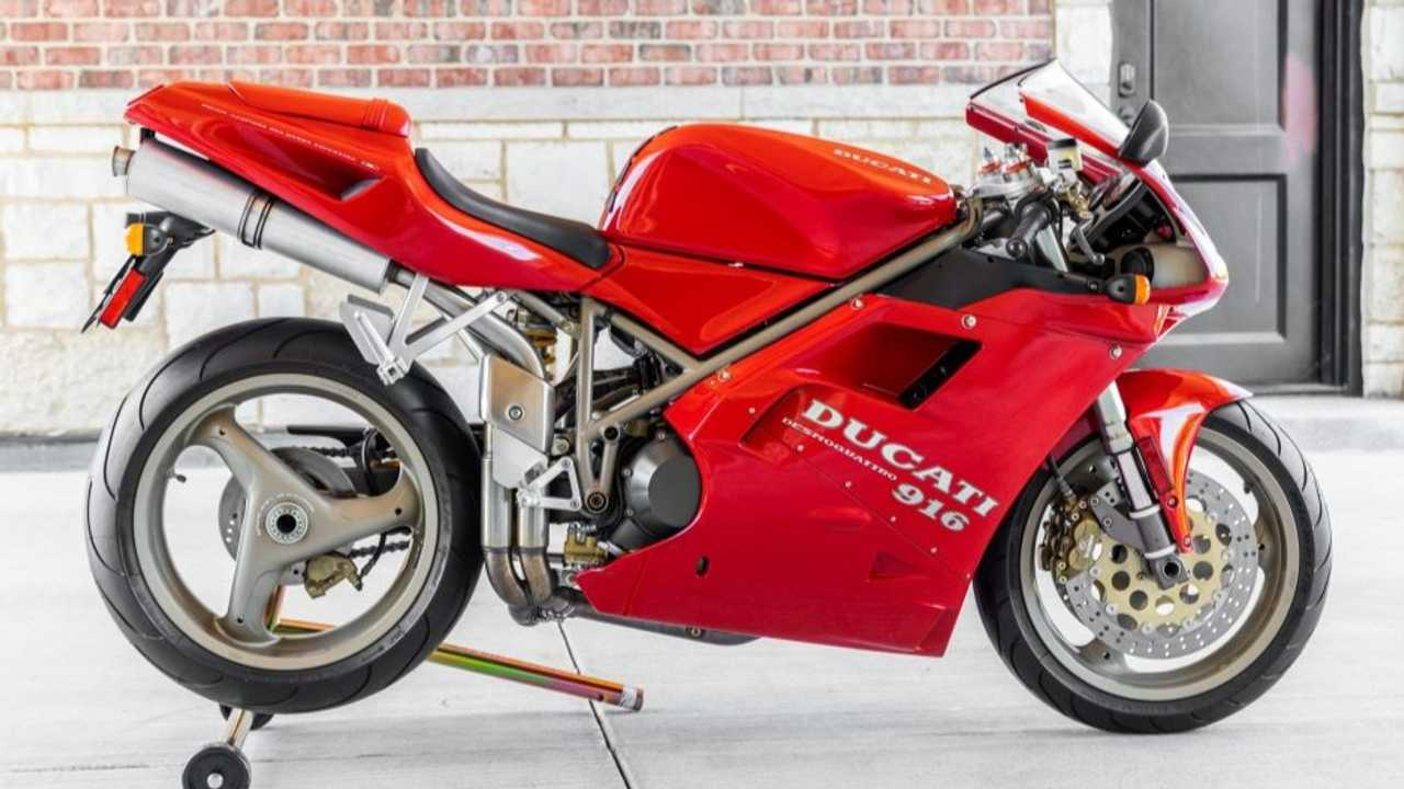 This All Original First-Owned Ducati 916 Is Looking For A New Home