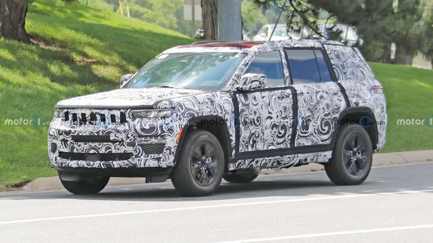 Nuova Jeep Grand Cherokee, pronta l'ibrida plug-in 4xe