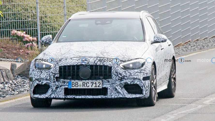 2022 Mercedes-Benz C63 AMG Spy Shots
