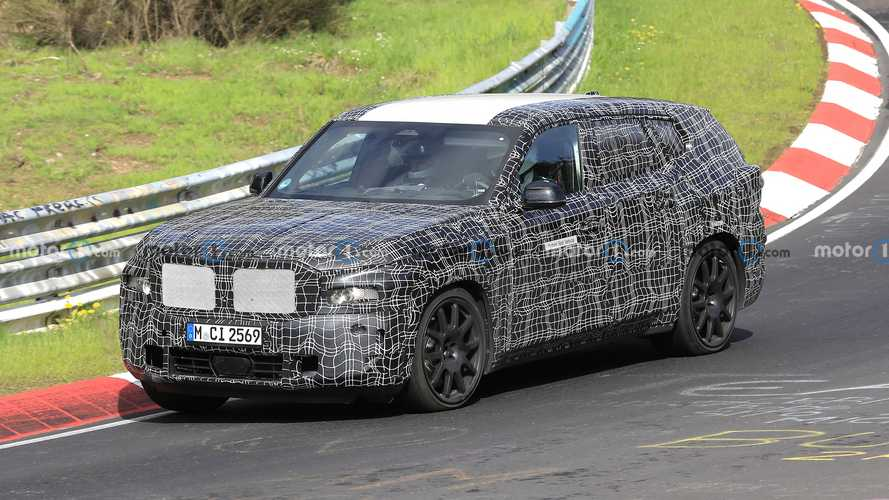 BMW X8 PHEV zeigt Performance-Fokus am Nürburgring