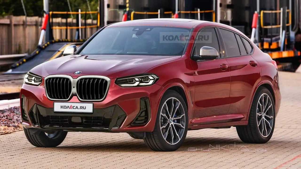 BMW X4 2022 em projeção