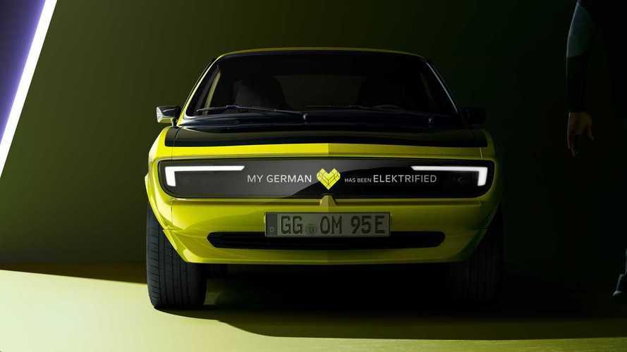 Elektrikli yeni Opel Manta konseptinden yeni bir video geldi!