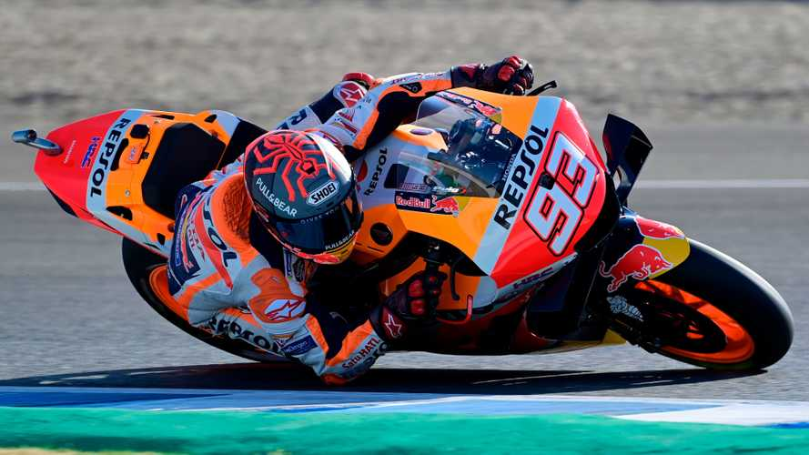 MotoGP Champ Marc Marquez Back On Track With Honda RC213V-S