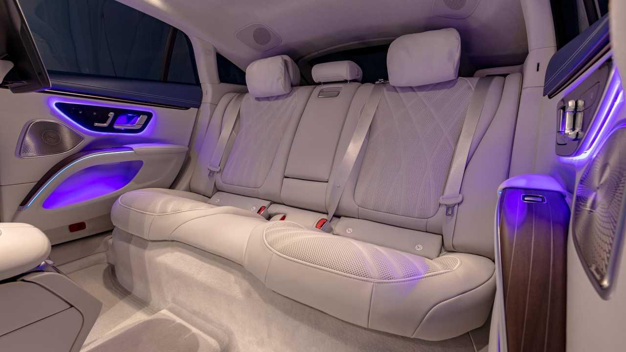 2022 Mercedes-Benz EQS 450 Interior Rear Seats