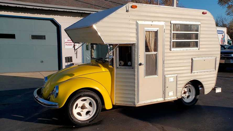 Super Bugger camper is the VW Beetle you can live in
