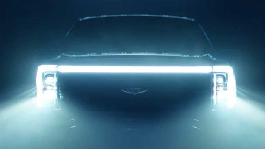 Another Teaser Shows Full Face Of 2022 Ford F-150 Lightning