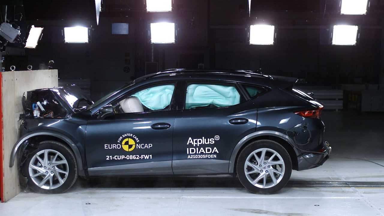 Cupra Formentor, i crash test di EuroNCAP