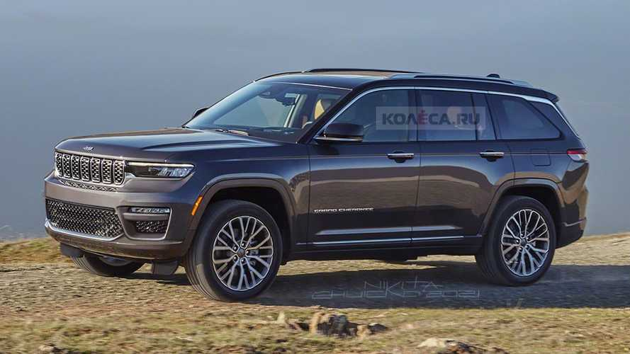 2022 Jeep Grand Cherokee Rendered With Five Seats, New Fascia