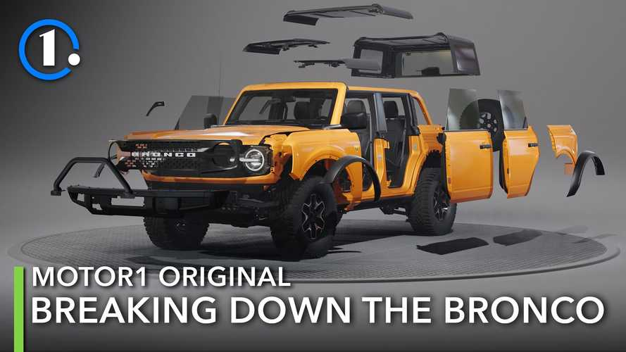 Watch Us Tear The 2021 Ford Bronco Apart