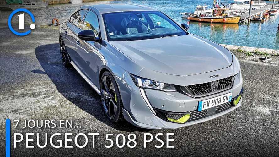 VIDEO - 7 jours en... Peugeot 508 Peugeot Sport Engineered (PSE)