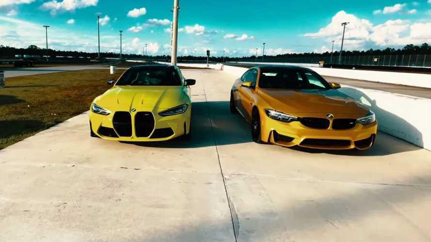 Egymás mellett a régi és az új BMW M4 - melyiket választanád?