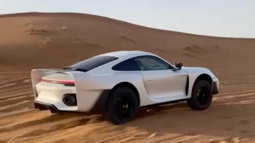 Gemballa'nın arazi odaklı Porsche 911 projesinden bir video geldi