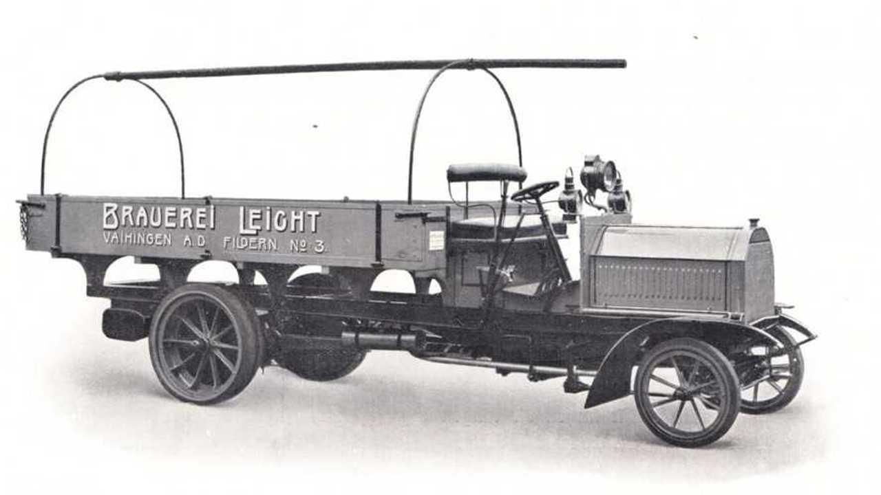 Daimler'in ilk Pickup'ı