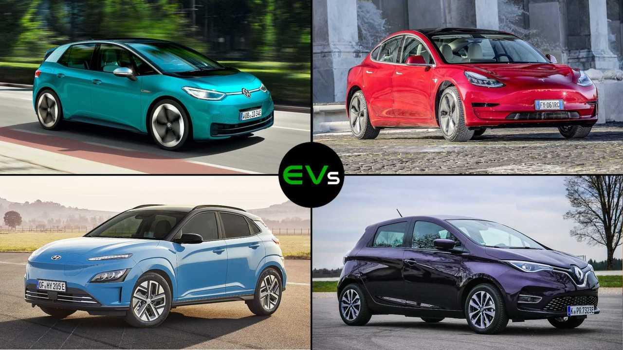Das meistverkaufte Elektroauto in Deutschland im 1. Quartal 2021 war der VW e-Up