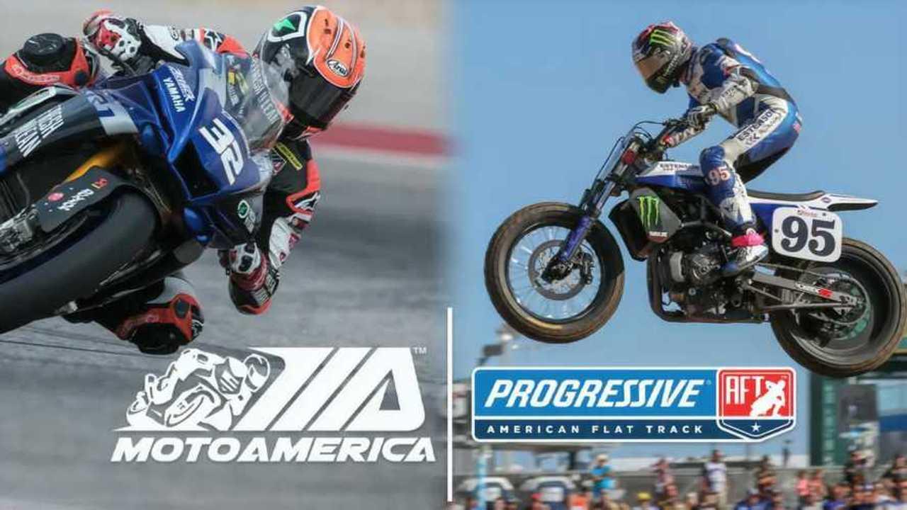 MotoAmerica and Progressive American Flat Track 2021