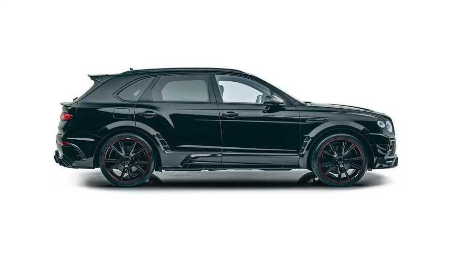 Обновленный Bentley Bentayga от Mansory