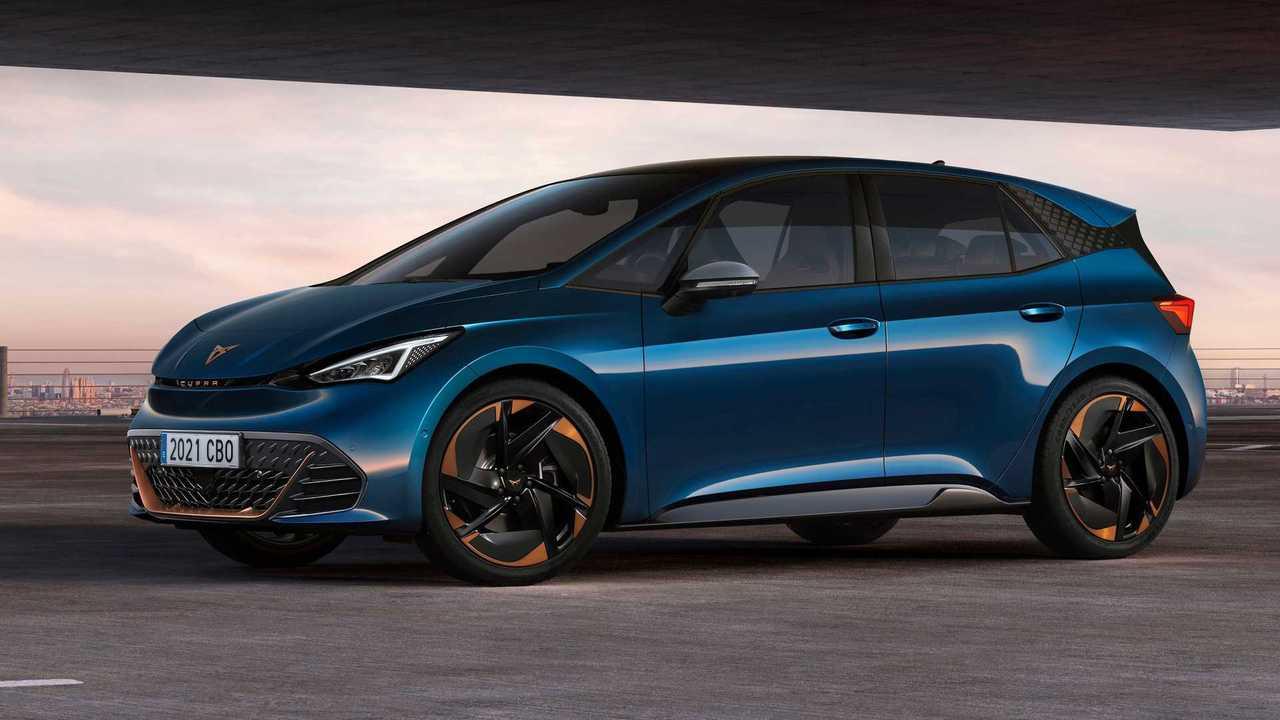 Cupra stellt den Born vor, eine neue Variante des VW ID.3