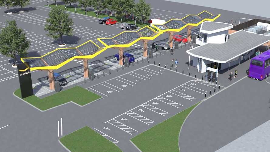 UK: Tesla And Fastned Chargers Coming To Energy Superhub Oxford