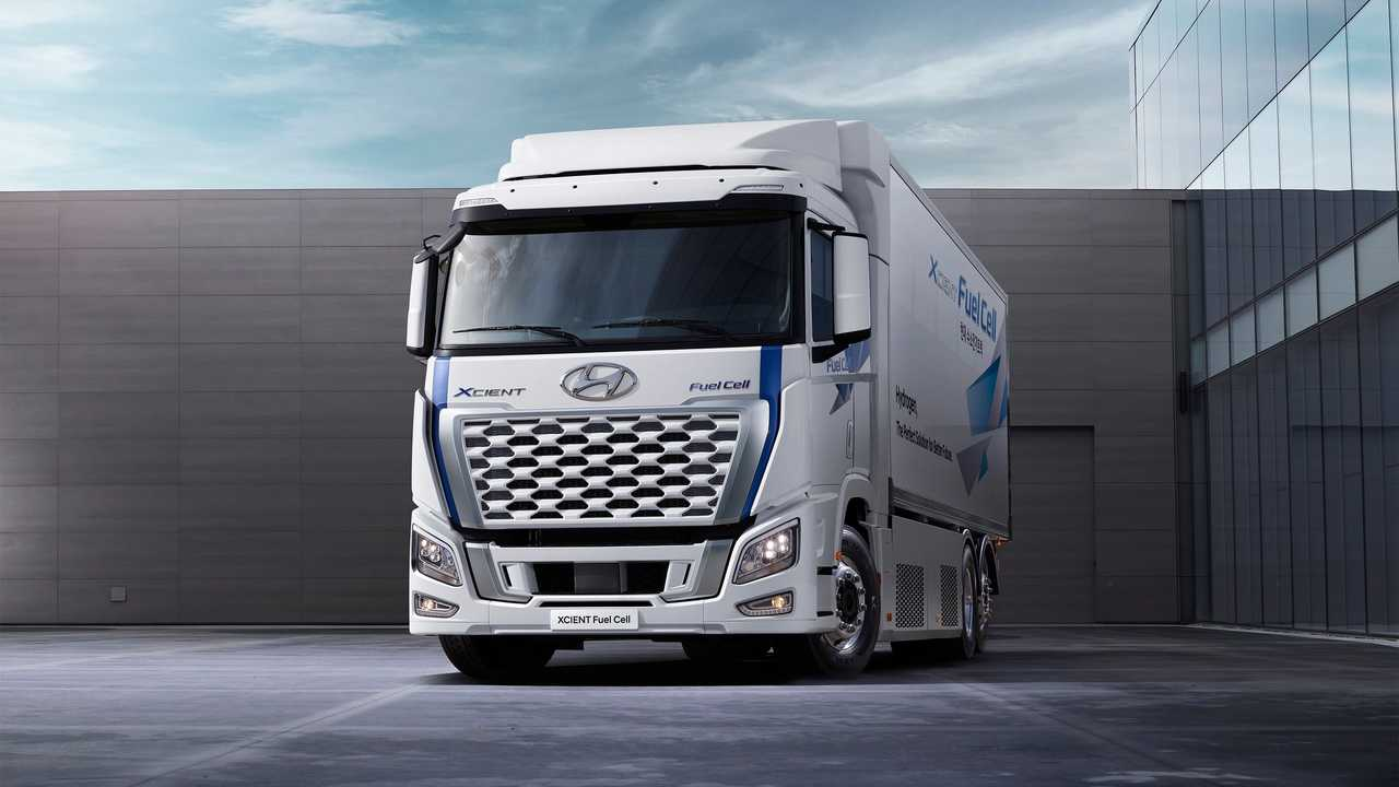 Hyundai XCient Fuel Cell restyling 2021