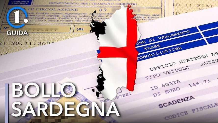 Come si paga il bollo auto in Sardegna