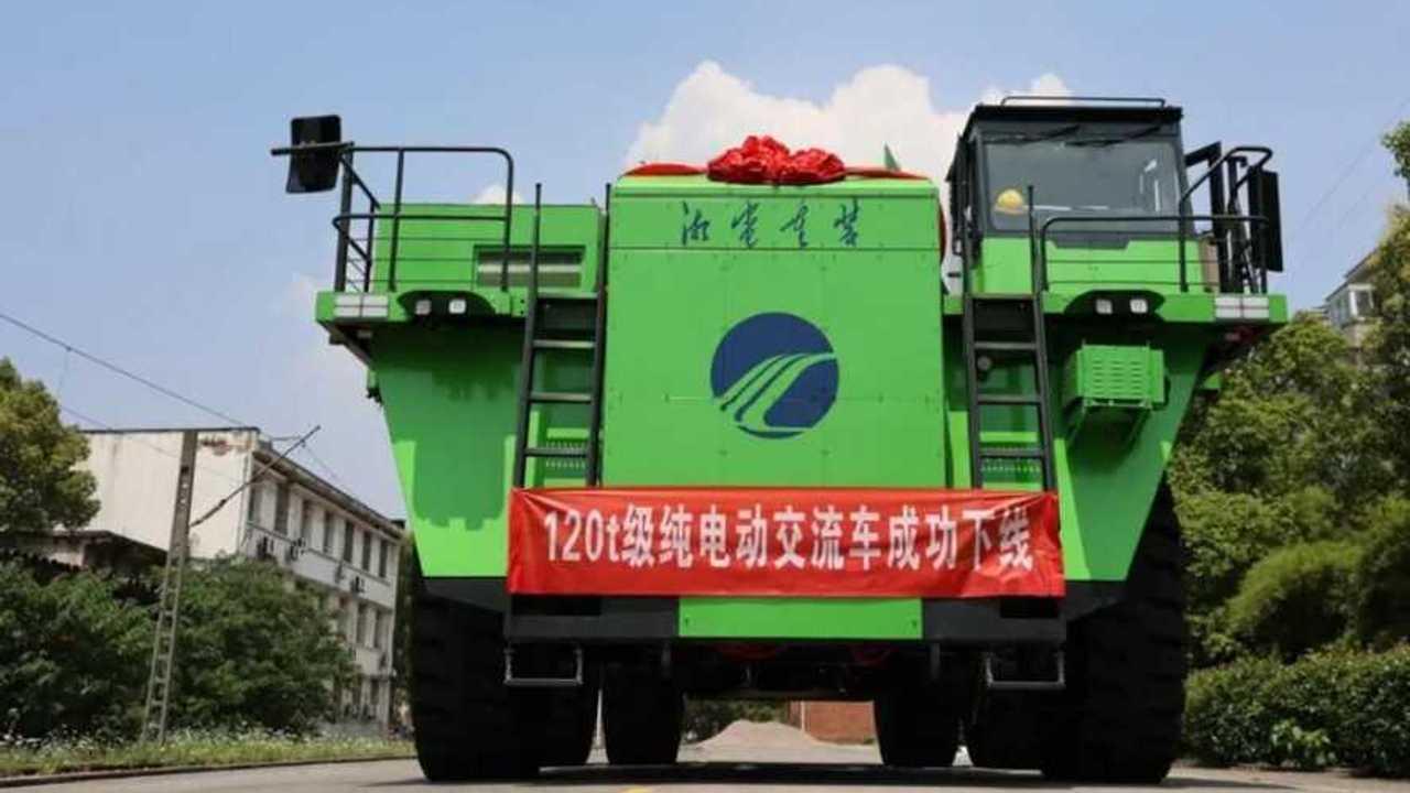 Xiangtan Electric Manufacturing Group dump truck