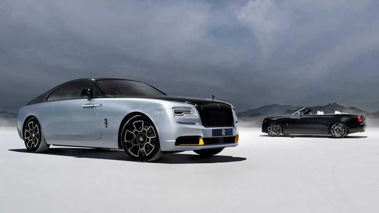 Посвященные Истону Rolls-Royce Wraith и Dawn