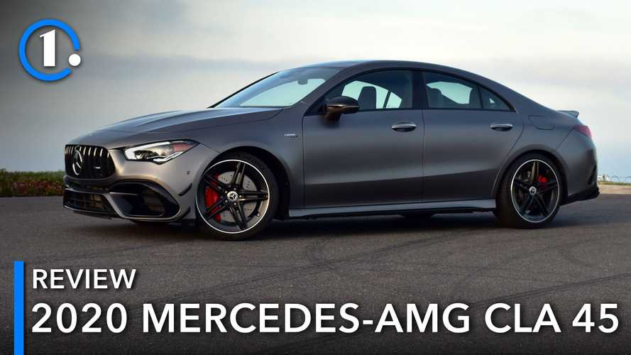 2020 Mercedes-AMG CLA 45 Review: Grown Up, Giggle-Inducing