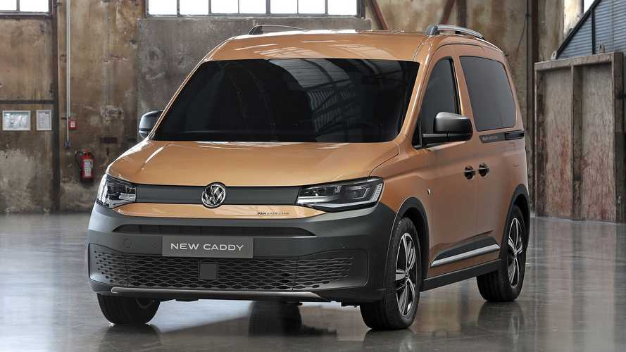 VW Caddy PanAmericana Combines Off-Road Look With AWD, Manual Gearbox
