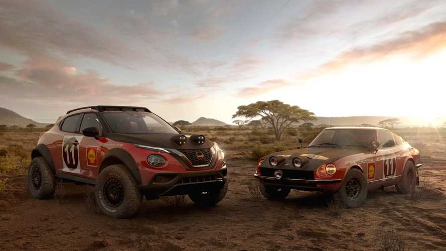 Nissan Juke Rally Tribute Concept Pays Homage To 240Z Rally Winner