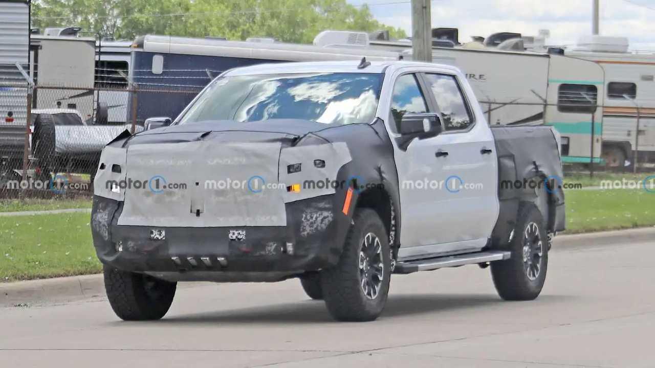 2022 Chevrolet Silverado ZR2 Trail Boss Spy Shots