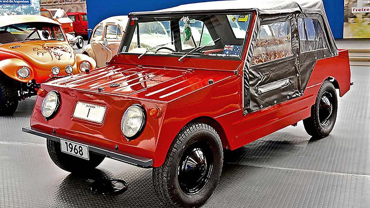 Volkswagen Country Bubby de 1968, un curioso descapotable