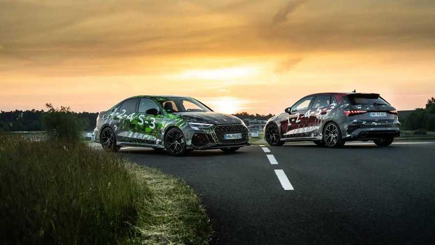 2022 Audi RS3 Prototype Teasers