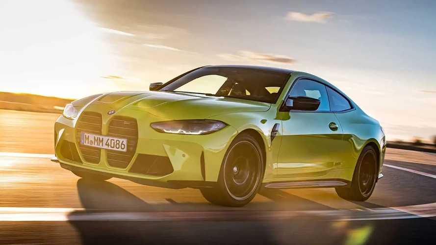 BMW M4 2021 em teste na Alemanha