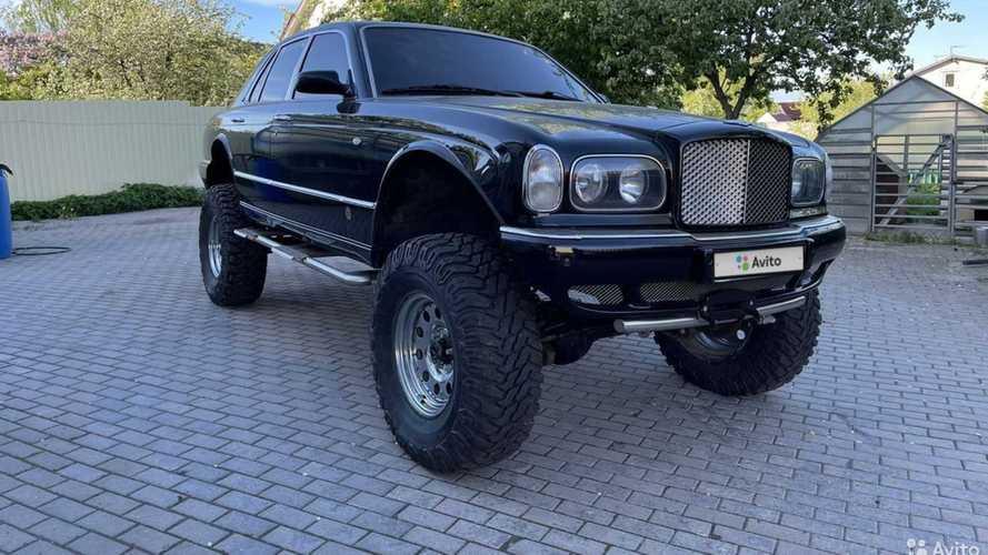 Люксовый Bentley Arnage превратили в безумный внедорожник