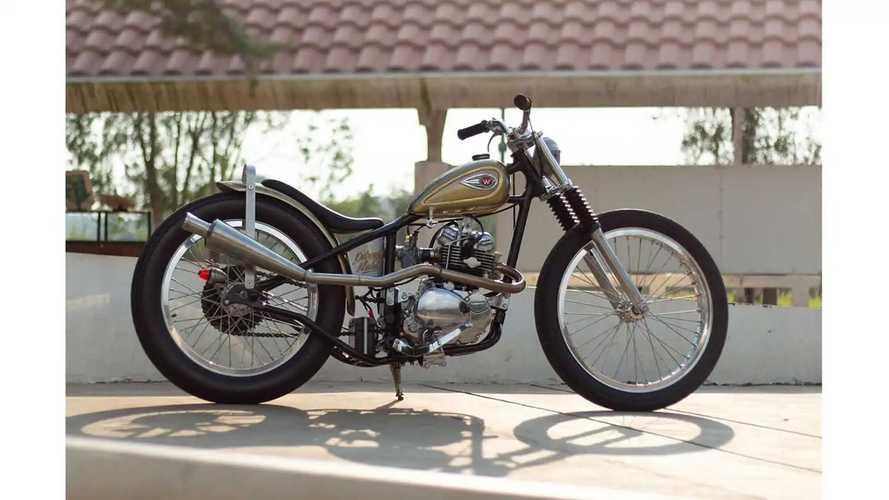 This Classic Custom Was Actually A New Kawasaki