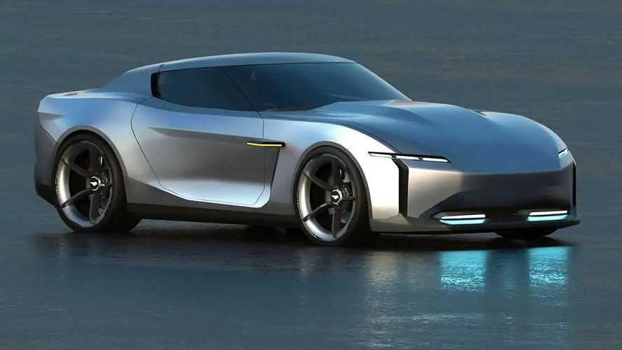 Ford Mustang é redesenhado como um cupê 100% elétrico para 2030
