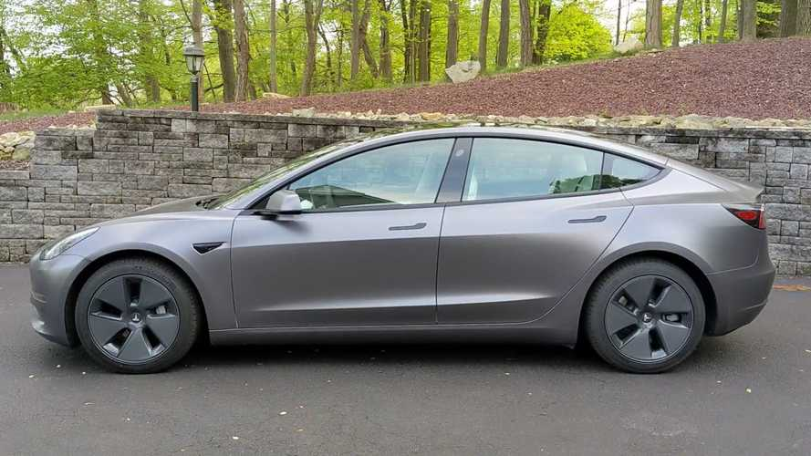 Watch What Happens When Coal Miners Drive A Tesla Model 3 Perf.