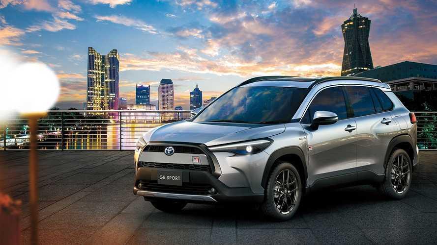 Toyota Corolla Cross 2022 terá versão esportivada GR Sport