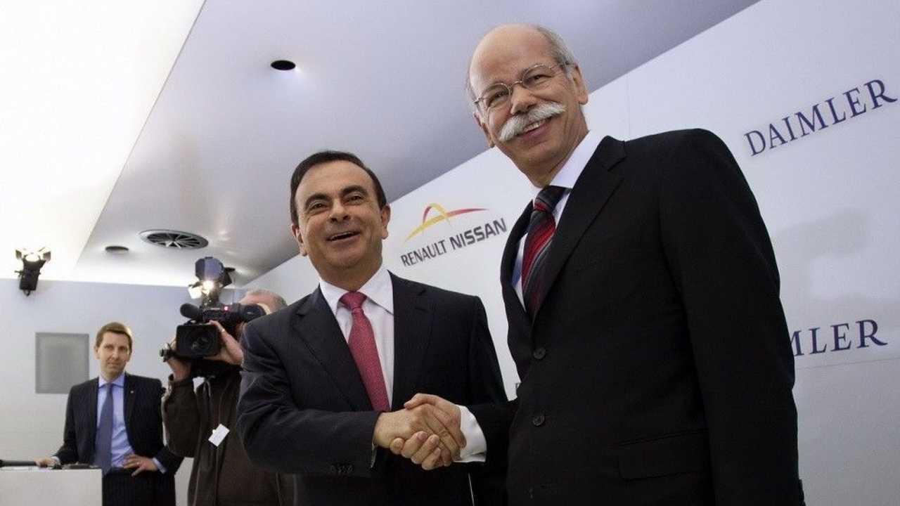 Carlos Ghosn et Dieter Zetsche