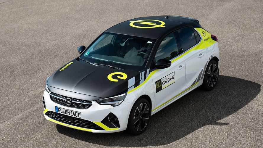 Come trasformare l'Opel Corsa elettrica in un'auto da rally