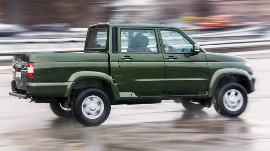 Пикап УАЗ скоро станет двухтопливным
