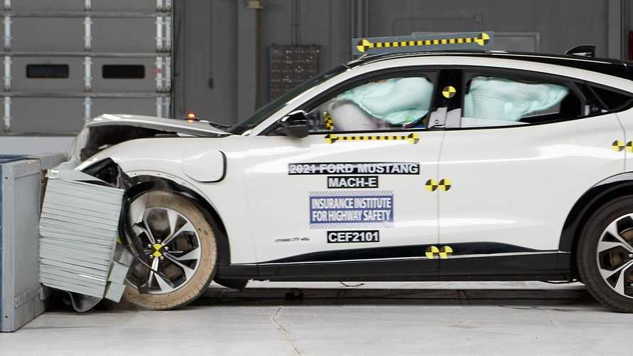 2021 Ford Mustang Mach-E Earns IIHS Top Safety Pick Award